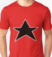 Red Zeo Star Visor T-Shirt