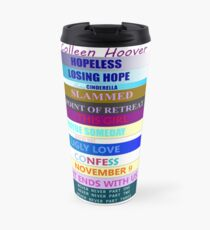 Colleen Hoover Spines Travel Mug