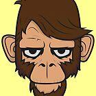 Monkey Hipster by EmilioPereiro