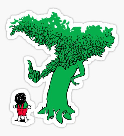 Codependent No More Tree Sticker