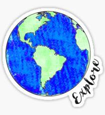 Explore Sticker