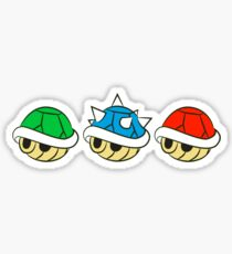 Mario Kart Items- Shells Sticker