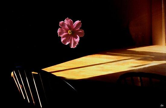Floating Flower Mindscape by Wayne King