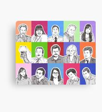 Parks and Recreation Canvas Print