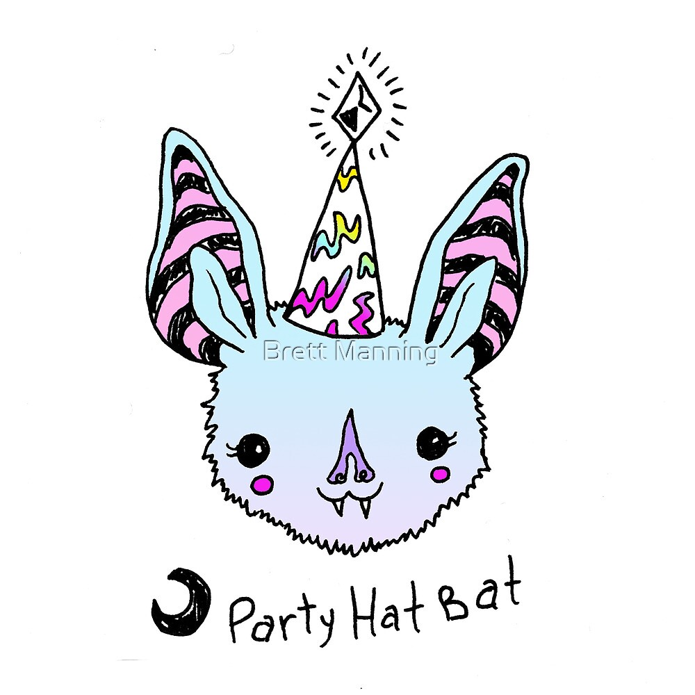 Party Hat Bat! by Brett Manning