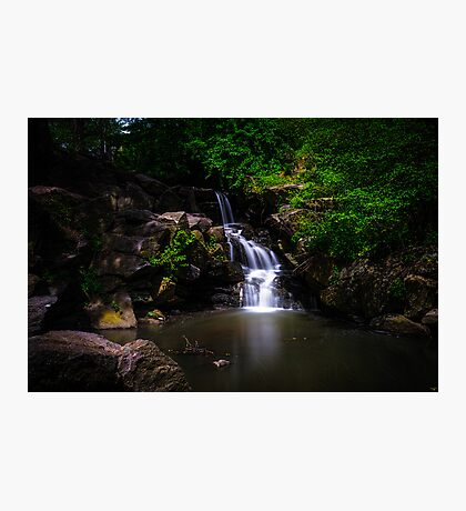 """A """"North Woods"""" Waterfall In Spring Photographic Print"""