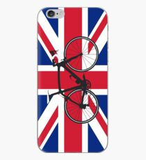 Bike Flag United Kingdom (Big - Highlight) iPhone Case