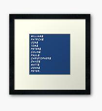 doctor&who Framed Print