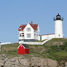Nubble Light by Michelle Callahan