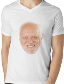 Hide the Pain Harold Mens V-Neck T-Shirt