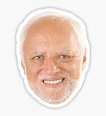 Hide the Pain Harold Sticker