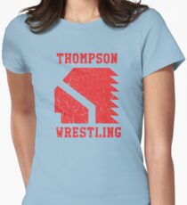 Thompson High School Wrestling (Vision Quest) Womens Fitted T-Shirt