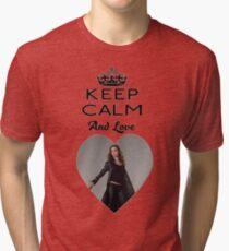 Buffy Faith Eliza Dushku Dollhouse  Tri-blend T-Shirt