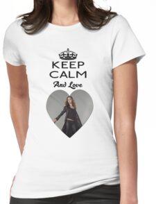 Buffy Faith Eliza Dushku Dollhouse  Womens Fitted T-Shirt