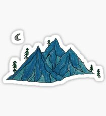 Mountain Sounds Sticker