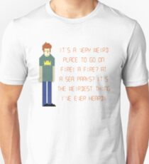 The IT Crowd – A Fire at Sea Parks?! T-Shirt