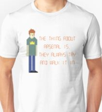 The IT Crowd – The Thing About Arsenal T-Shirt