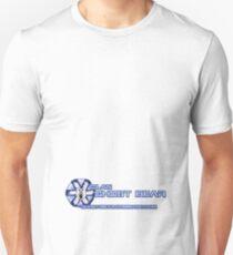 Small Ghost Bear logo back (lower) Unisex T-Shirt
