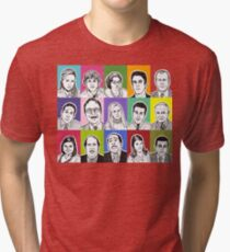 The Office Cast Tri-blend T-Shirt