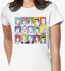 The Office Cast Women's Fitted T-Shirt