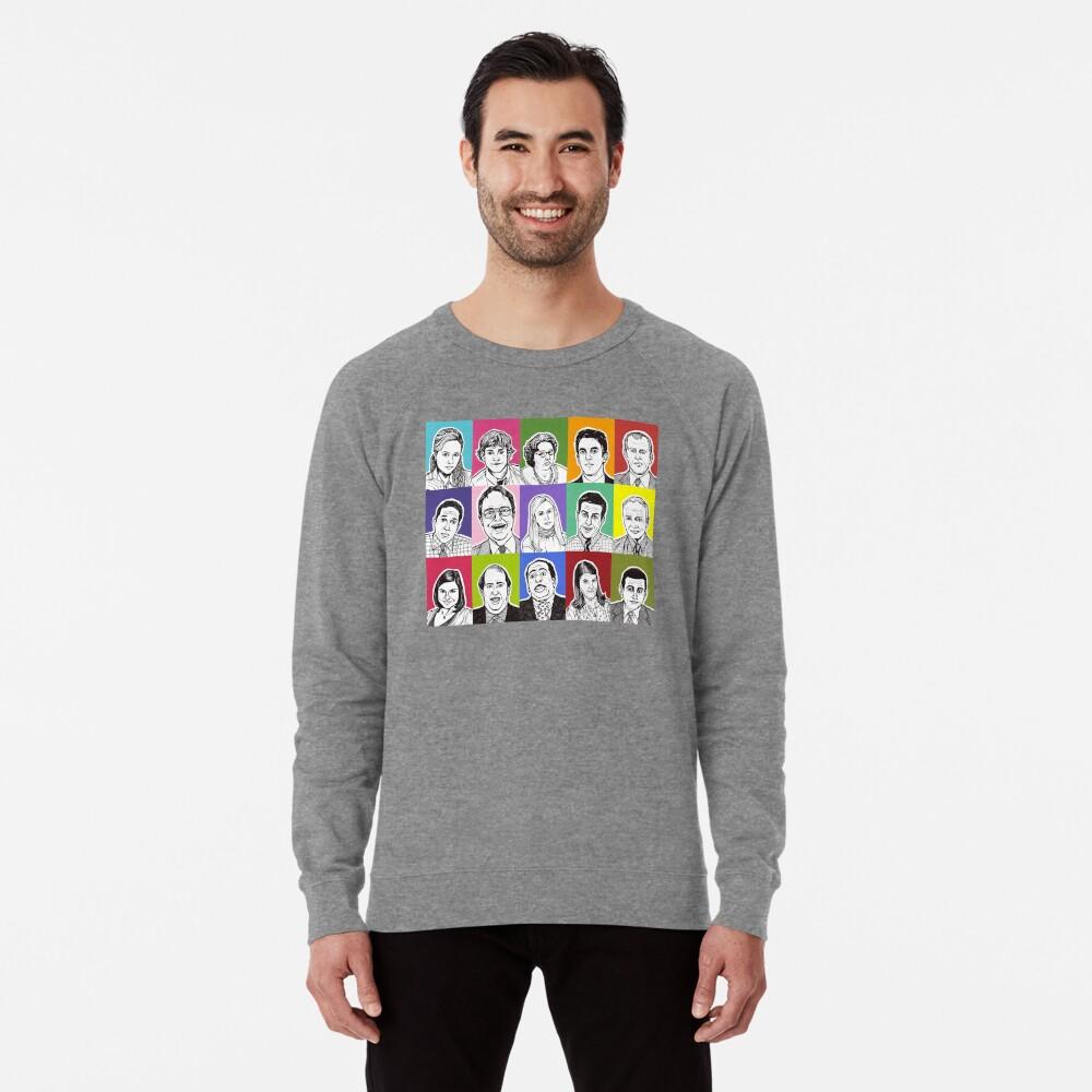 The Office Cast Lightweight Sweatshirt