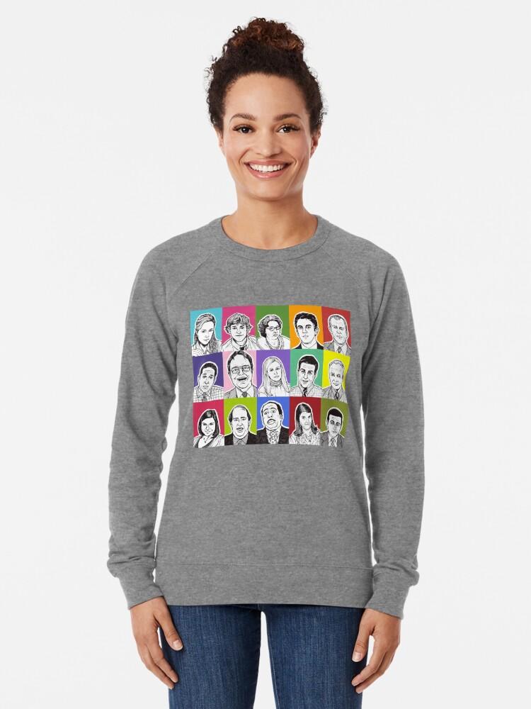 Alternate view of The Office Cast Lightweight Sweatshirt