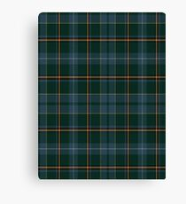 02843 Linn County, Iowa Tartan  Canvas Print