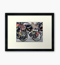 Giro d'Italia - Belfast  - Not So Pink Framed Print