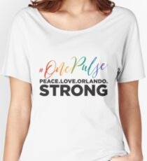 #OnePulse - remembering Orlando Women's Relaxed Fit T-Shirt