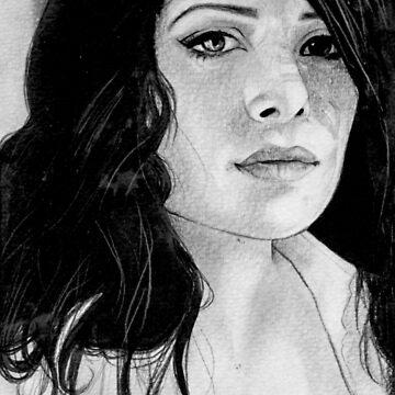 sarah shahi in pencils.  by Tantoun87