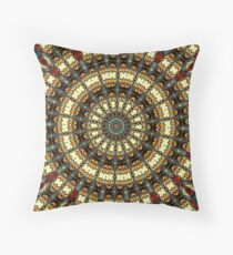 Stained Glass Pillow Throw Pillow