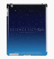 Science Fiction: The Movie!- Blue iPad Case/Skin