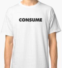 Camiseta clásica CONSUMIR