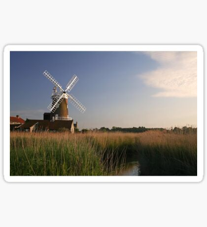 Cley Windmill - Unusual Aeriel shot Sticker