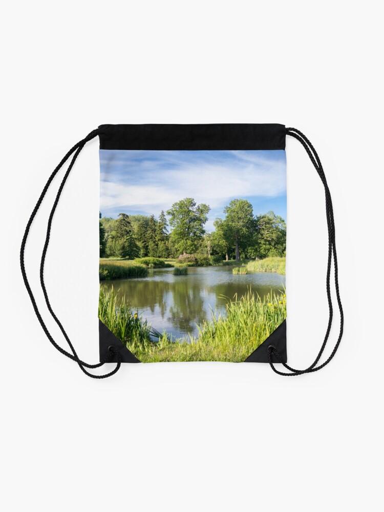 Alternate view of Rural Lake Drawstring Bag