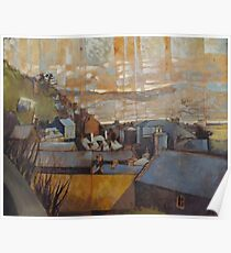 Rooftops of Barmouth Poster