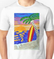 Surfer Sunset T-Shirt