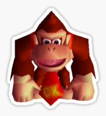 Donkey Kong 64 sprite Sticker