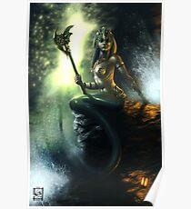 Fantasy Mermaid Poster