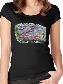 Nova Scotia Rocks 1 Women's Fitted Scoop T-Shirt