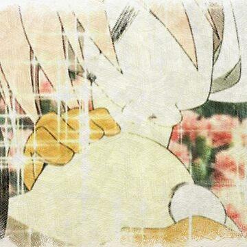 FLCL Haruko kiss by Sci-mpli