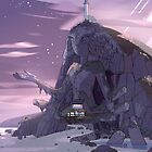 Steven Universe Night Temple by Inmakia