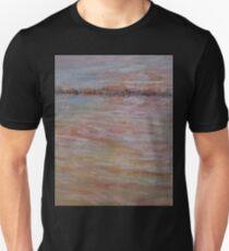 Sun setting over harbour T-Shirt
