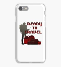 Ready To Travel Anywhere iPhone Case/Skin