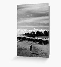 Child's Beach Play Greeting Card