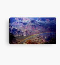 Arizona, Grand Canyon's rainbow Canvas Print