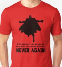 Never Again Unisex T-Shirt