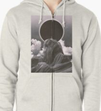 Now more than ever BW Zipped Hoodie