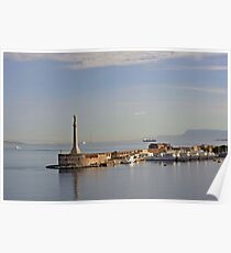 La Virgen del puerto Messina, Sicilia.    (Italia) Poster