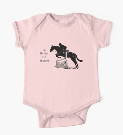 I'd Rather Be Riding! Equestrian T-Shirts & Hoodies Kids Clothes